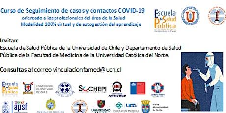 Curso de Seguimiento de casos y contactos COVID-19 entradas