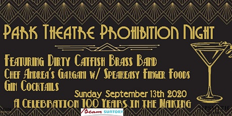 Prohibition at the Park w/ Food, Cocktails and Dirty CatFish Brass Band tickets