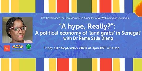 """A hype, Really?"": A political economy of 'land grabs' in Senegal tickets"
