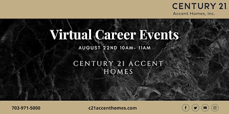 Northern Virginia Real Estate Career Seminar August 22nd tickets