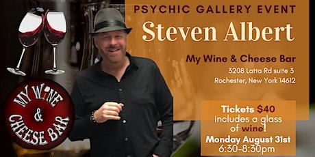 Steven Albert: Psychic Gallery Event My Wine 8/31 tickets