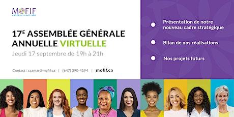 17 ème Assemblée générale annuelle virtuelle billets