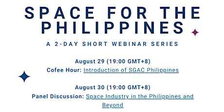Space for the Philippines - Day 2 tickets