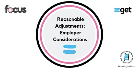 Discrimination and Reasonable Adjustments - Employer Considerations tickets
