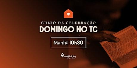 Culto de Celebração (Santa Ceia) - Domingo 09/08/2020 - MANHÃ ingressos
