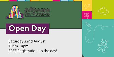 Open Day | Ashbourne Day Nurseries at Barking tickets