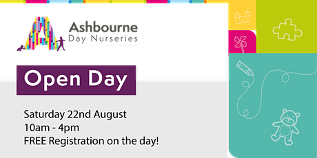 Open Day | Ashbourne Day Nurseries at MK Central tickets