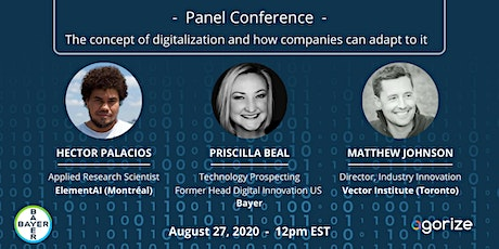 Panel Conference - Digitalization and Bayer Digital Campus Challenge tickets