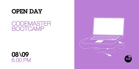 Open Day | CodeMaster Bootcamp biglietti