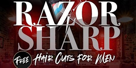 KAGM Razor Sharp Free Hair Cuts 4 Men tickets
