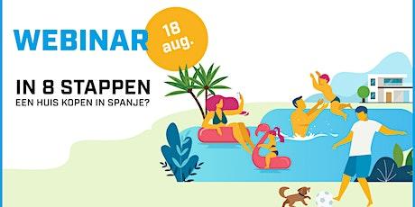 In 8 stappen een huis kopen in Spanje? Koop geen kat in een zak! 18/08/2020 tickets