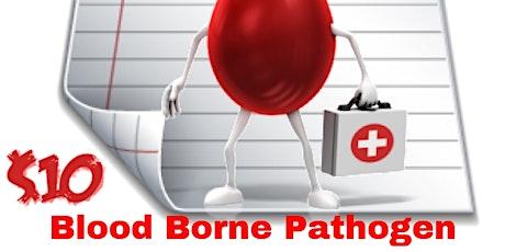 Blood Borne Pathogens tickets