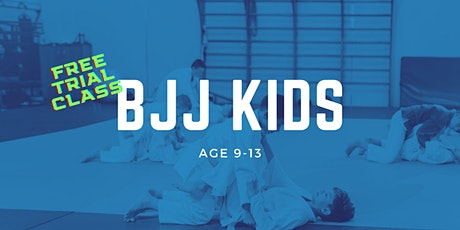Brazilian Jiu-Jitsu Kids Age 9-13 Trial Class at Gracie Academy Berlin Tickets