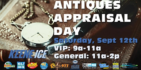 Antiques Appraisal Day tickets