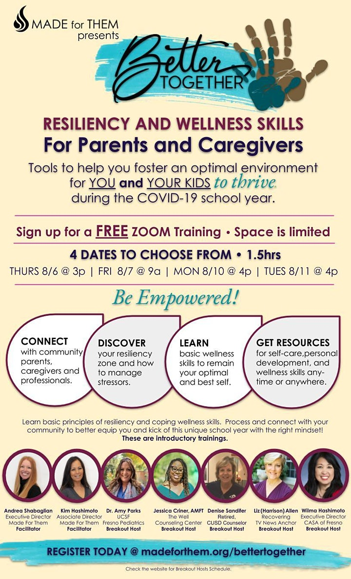 Better Together   Resiliency and Wellness Skills for Parents and Caregivers image