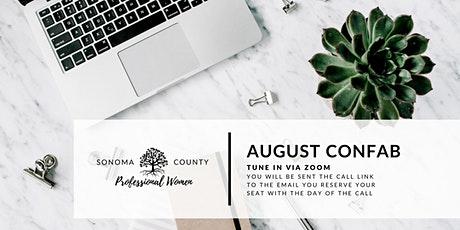 August Confab | Sonoma County Professional Women tickets