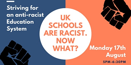 UK Schools are Racist. Now What? tickets