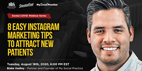 8  Easy Instagram Marketing Tips to Attract New Patients Tickets