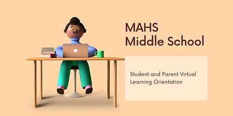 Parent and Student Virtual Learning Orientations tickets