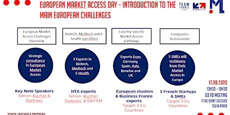 European Market Access Day billets