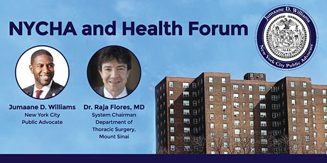NYCHA and Health Forum tickets
