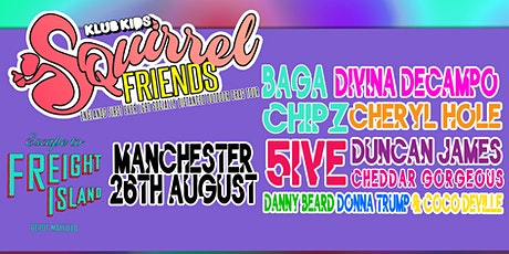 Klub Kids Manchester presents SQUIRREL FRIENDS (ages 14+) tickets