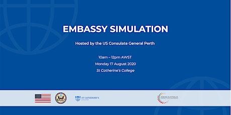 Embassy Simulation Event tickets