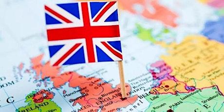Webinar Mercados Globais: Reino Unido ingressos