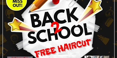 Free Back to School Haircuts tickets