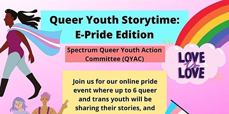 Queer Youth Story Time: E-Pride Edition tickets