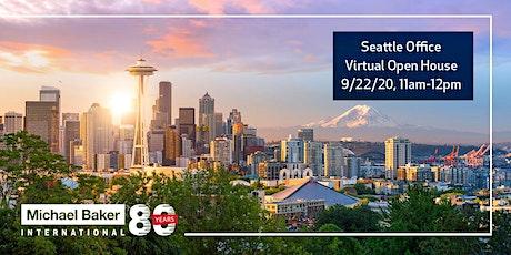 Michael Baker International - Seattle Office Virtual Open House tickets