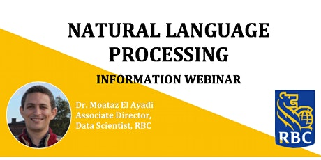 Natural Language Processing Webinar tickets