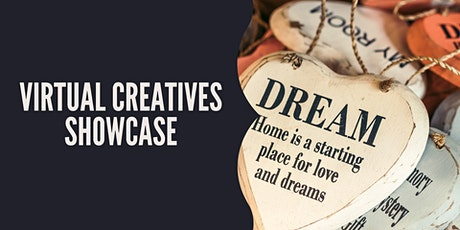 Monthly Virtual Creatives Showcase tickets