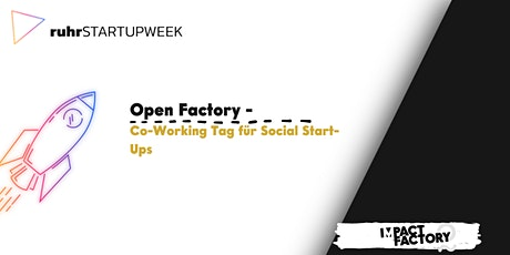 Open Factory - Co-Working Tag für Social Start-Ups billets