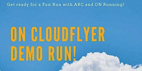Cloudflyer Demo Run tickets