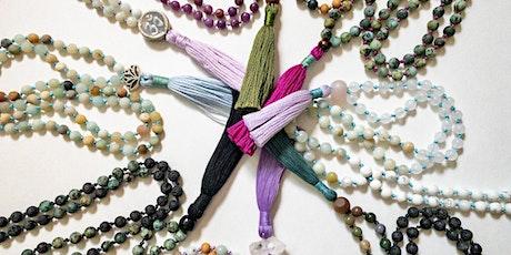 Full Moon Mala Bead Necklace Workshop tickets