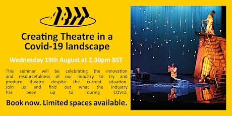 ABTT Seminar: Creating Theatre in a Covid-19 landscape tickets