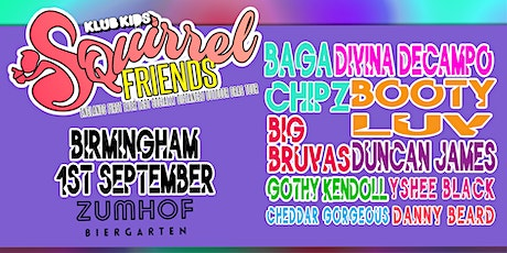 Klub Kids Birmingham presents SQUIRREL FRIENDS (ages 18+) tickets
