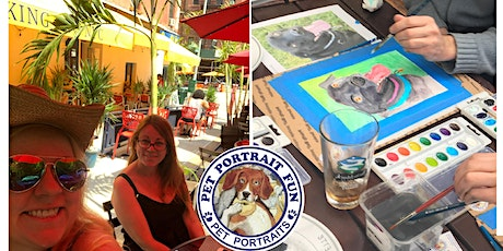 Sip and Paint a Pet Portrait Fun- Barking Dog New York tickets
