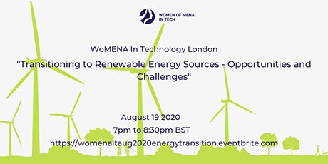 WoMENAIT - Transitioning to Renewable Energy - Opportunities and Challenges tickets