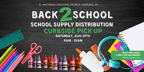 Community Back 2 School Supply Distribution tickets