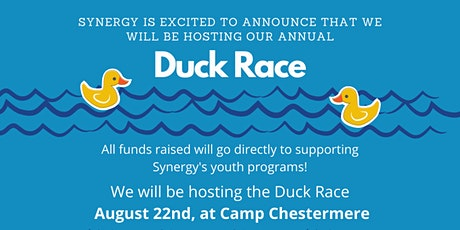 Synergy's 2020 Duck Race Pre-Registration tickets