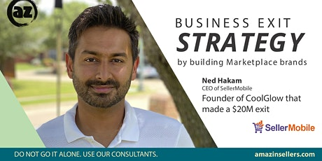 Build Marketplace Brands with clear Exit Strategy by Founder of CoolGlow tickets