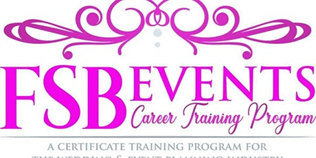 Wedding & Event Planning - ONLINE VIRTUAL CLASS tickets