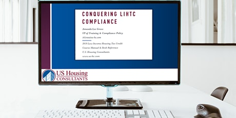 Conquering LIHTC Compliance  LIVE Online Training Course (10/6/2020) tickets