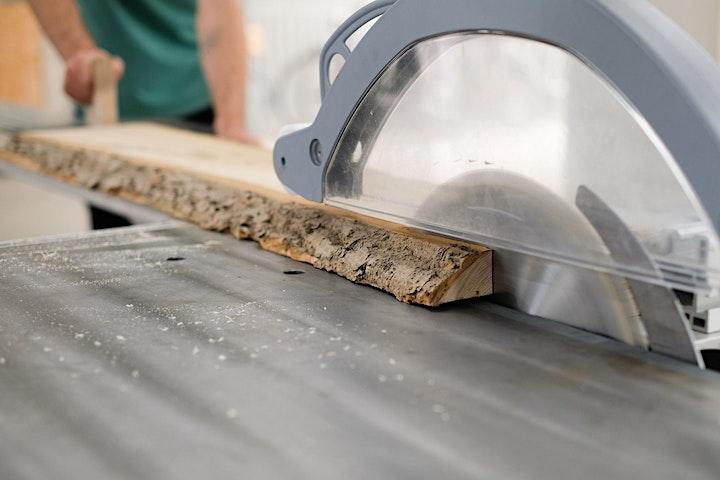 Massivholz bearbeiten - Holz Workshop: Bild