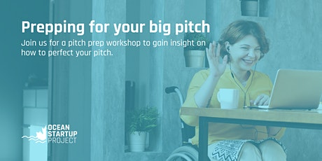 Prepping for your big pitch tickets