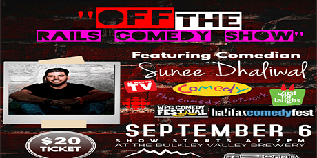 OFF THE RAILS COMEDY tickets