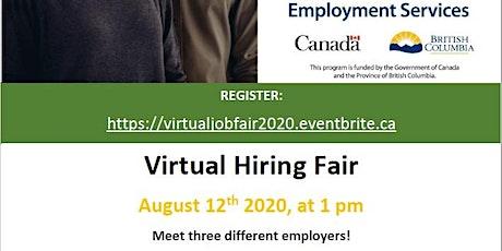 Newton WorkBC Virtual Job Fair tickets