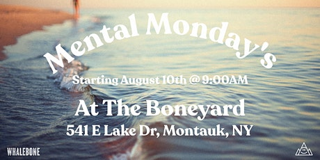 Mental Monday's @ The Boneyard tickets